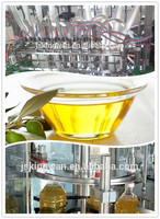 bottling line oil glass bottle
