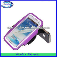 Running PVC Sport Armband Case for Samsung Galaxy Note 2 N7100