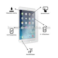 2013 New Hot Selling Tempered glass screen protector For iPad air