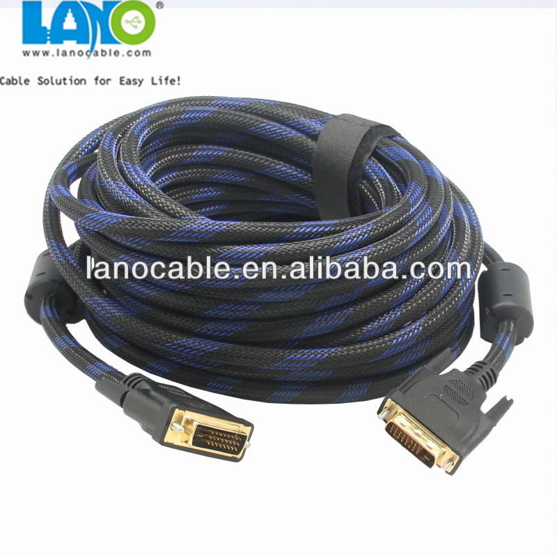 factory direct supply dvi to dvi cable dvi 18+1 pin 18+5pin 24+1 pin