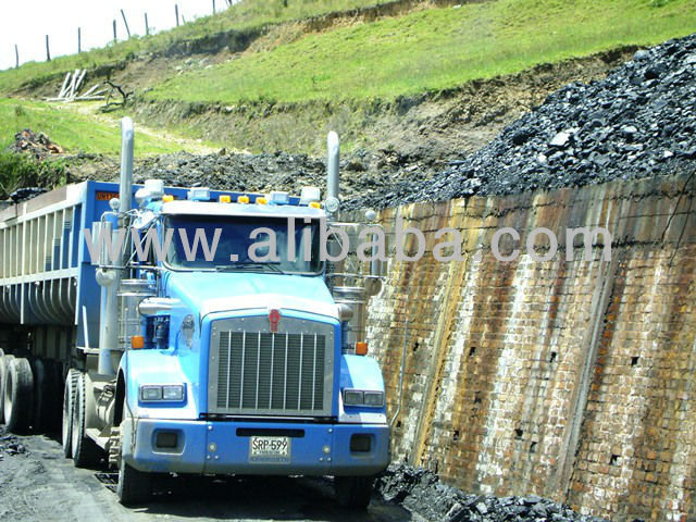 Steam Coal Type A Thermal Bagged Big Bags Broken Nut FOB Pacific Port BuenaVentura Colombia