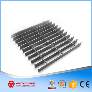 ADTO Mild Metal Welded Plain Steel Grating For Mezzanine Platform Stair Treads Staircase Catwalk Cheap Price China Manufacturer