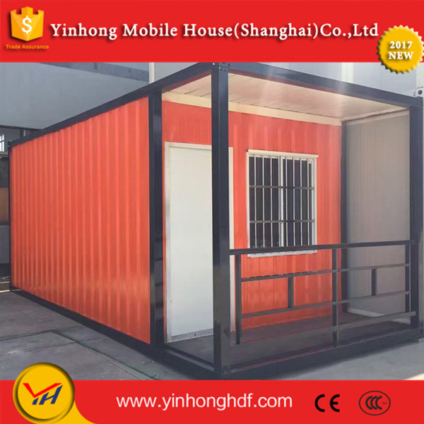 Seaside Resort Accommodate Container House Insulated