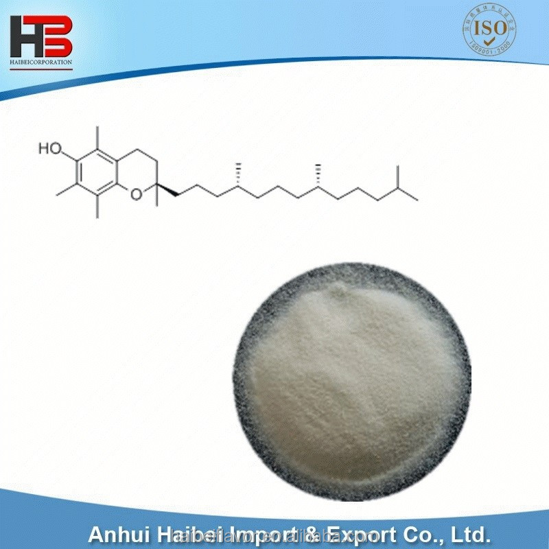 Tocopheryl; pale yellow powder Vitamin E with low price