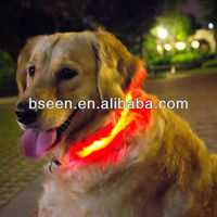 Dog collar manufacturing dog clothing with led lights china