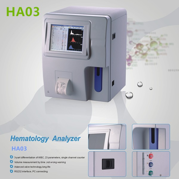 Fully automatic hematology analyzer HA03-1