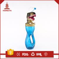 Kota kinabalu 350ml bpa free monster energy drink plastic water sport shaker bottle with straw
