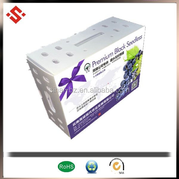 2-12mm Plastic PP Turnover boxes and packing boxes packing box castom printed