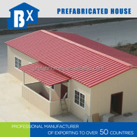 prefabricated houses low cost and nice design