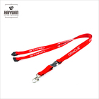H & M fashion 20mm metal lobster woven lanyard with clip