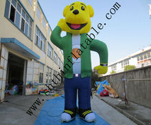 factory supply inflatable cartoon bear