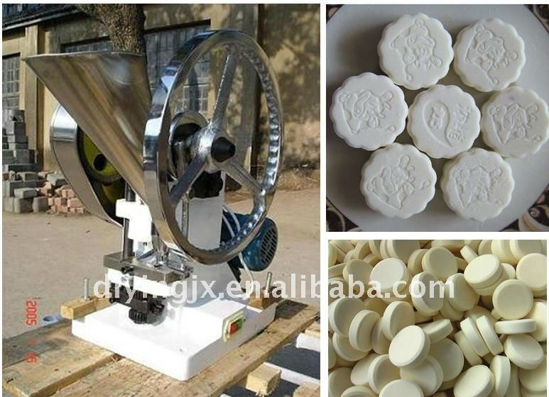 TDP Single punch small milk tablet press mill