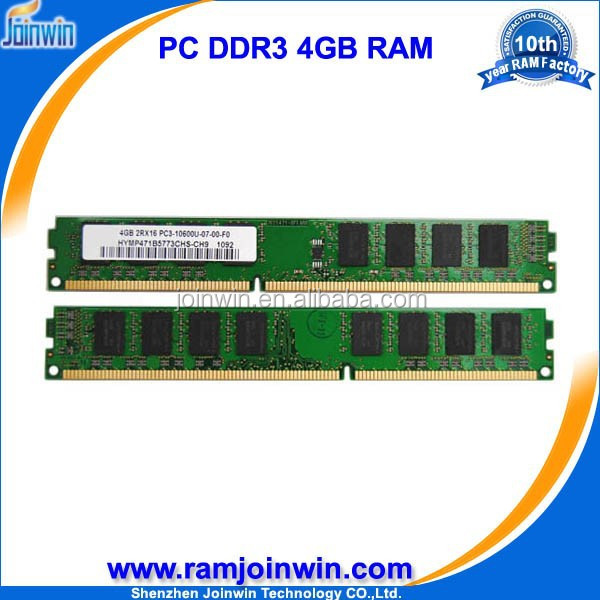 Joinwin 240pin 1333D3N9/4G longdimm pc ddr3 4gb memory