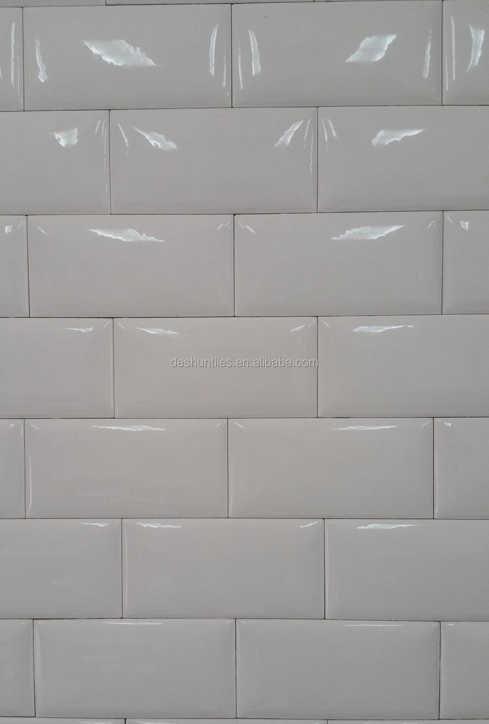 75x152mm bathroom wall decorative subway bathroom tile for Decorative wall tiles for bathroom