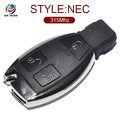 Smart key for Benz 3 Button keyless go key with nec chip 315MHZ AK002024