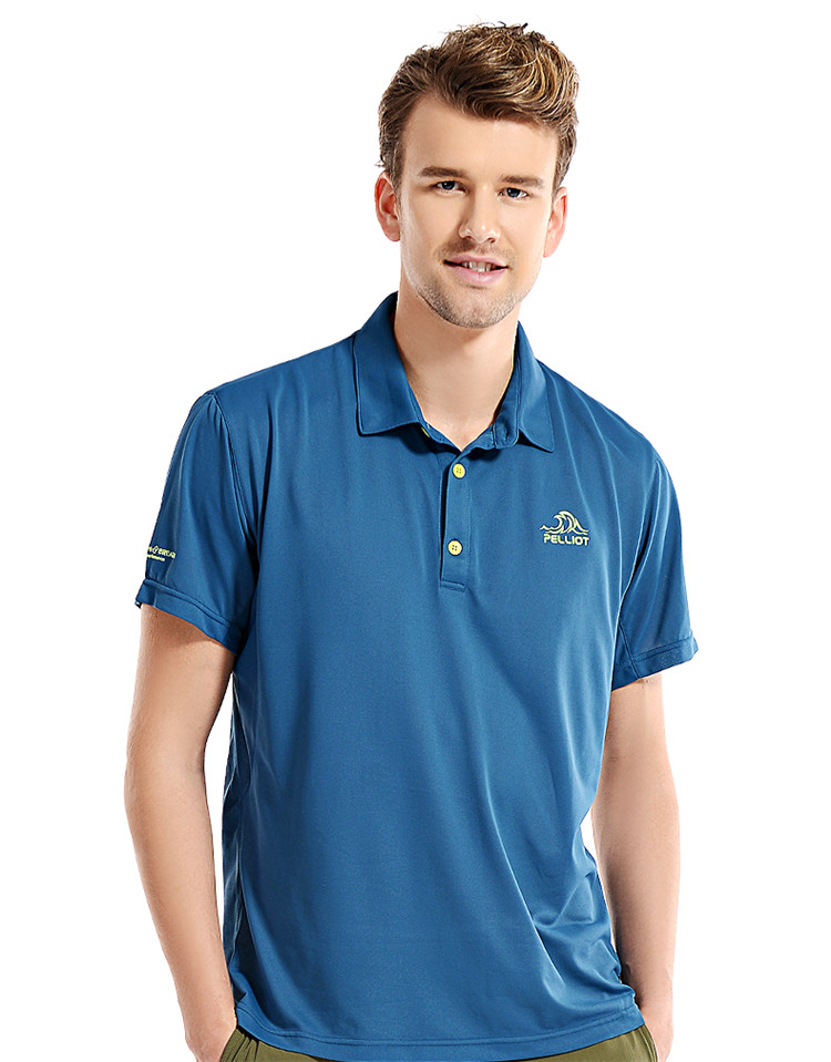 Wholesale Custom Logo Coolmax Lycra Polo Shirt