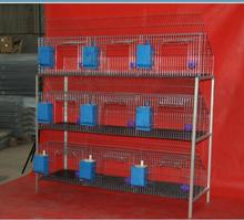 2018 China New Design durable galvanized industrial used rabbit farming cages for sale