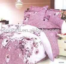 home bed 100% cotton printed comforter set