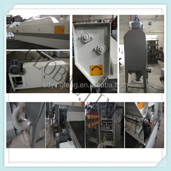 New type tempering glass frosting machine with Automatic guns