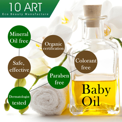 100% Natural baby oil Top grade sunflower seed oil