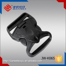 Hot sale adjustable quick side release plastic buckle for coat belt JW-K065