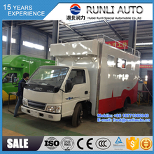 China factory directly supplied JMC 4X2 food truck good price for sale in UAE