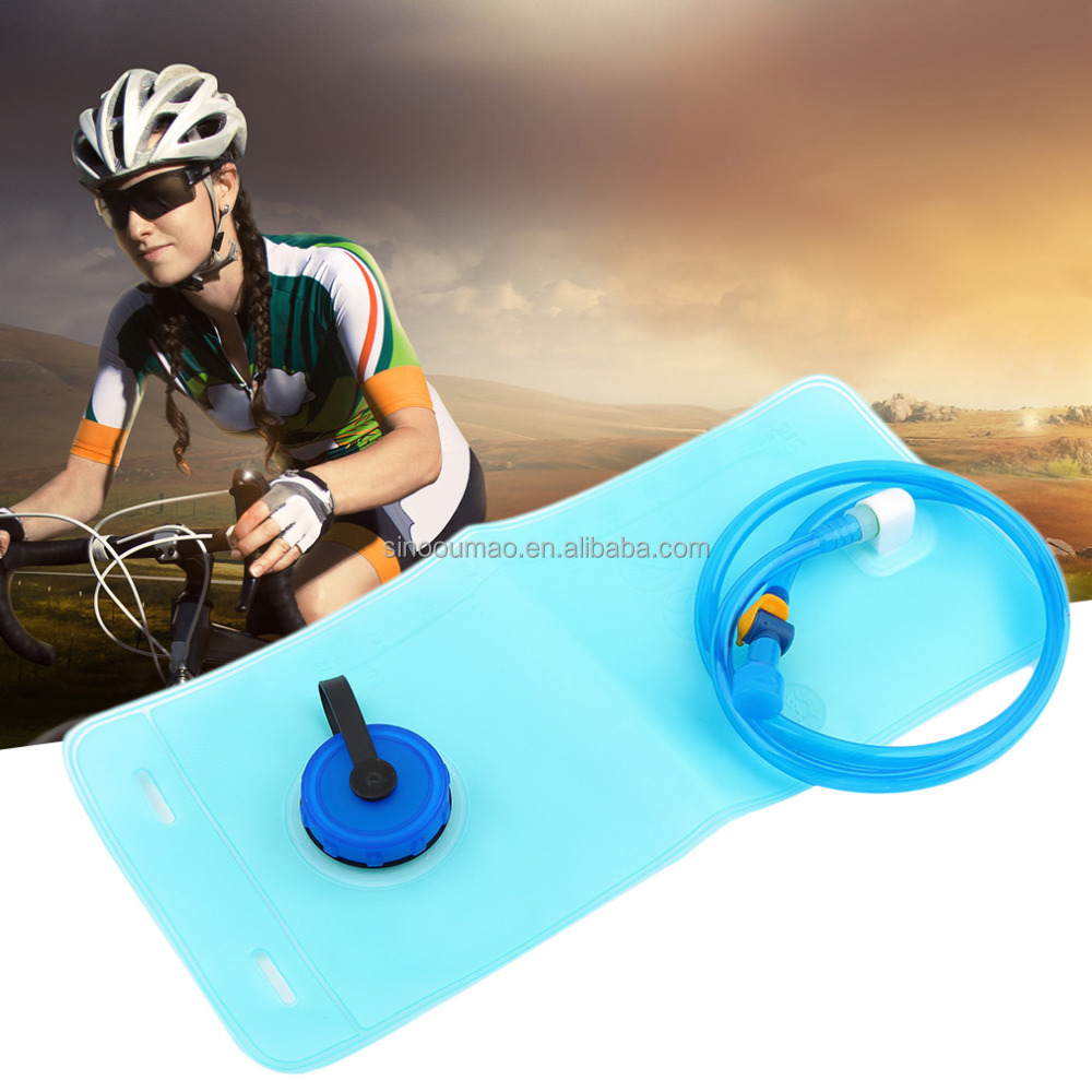 Plastic 1.5l TPU bladder water camping bag bicycle water bladder
