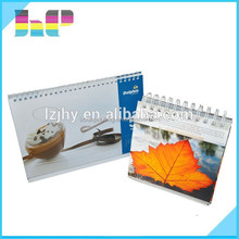 2015 Customized design and high quality desk calendar /high quality photo wall calendar printing