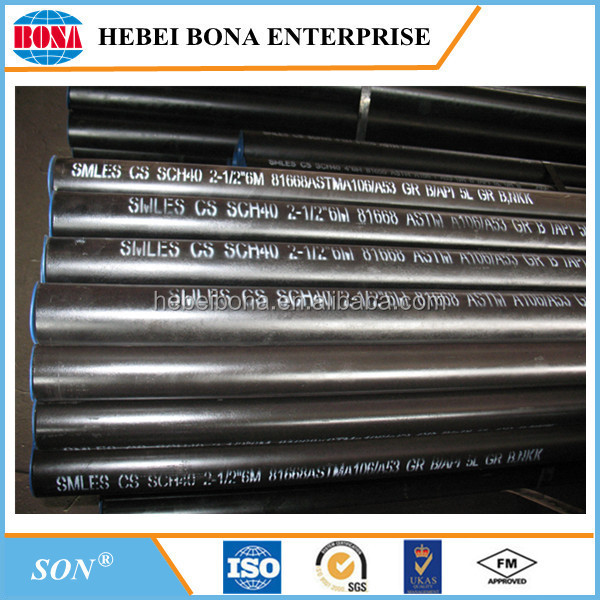 Carbon Steel Seamless Pipe Schedule 40 Carbon Steel Pipe
