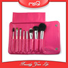 MSQ 8pcs Professional Natural Hair Makeup Brush Kit