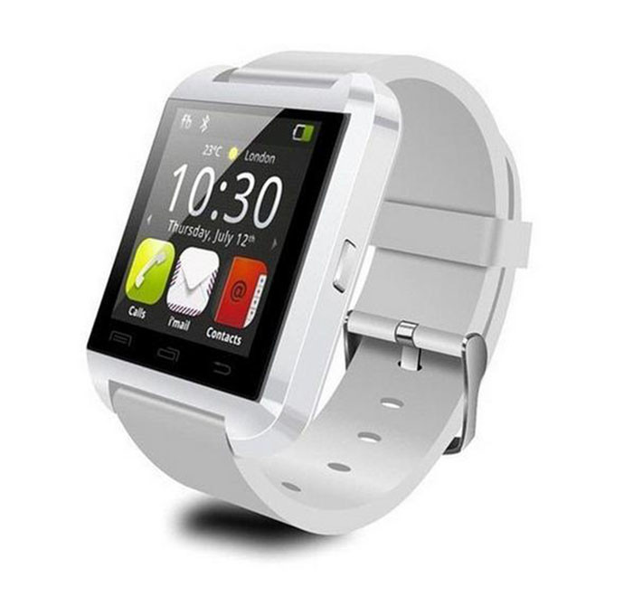 Hot sale U8 New Stylish Touch Screen Bluetooth Android Smart Watch Black