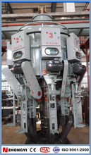 Rotary style automatic weighting 50kg bag filling machine for cement packing model: BHYW-6D