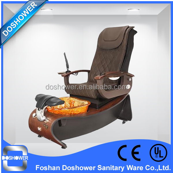 Doshower detox foot spa with mp3 pedicure chair top only fiber glass design for sale