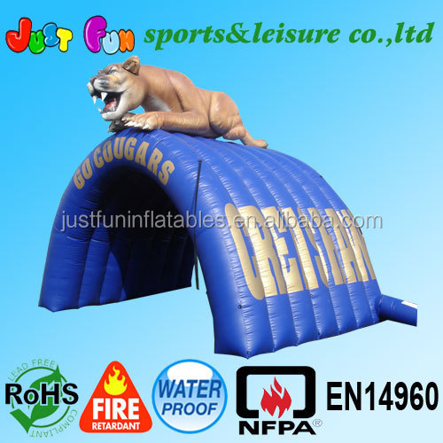 Hot selling PVC inflatable tent custom inflatable tent with QC