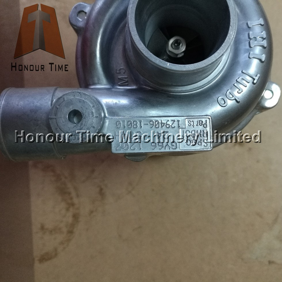 Imported turbocharger 129406-18010 GY66 RHB31 4TNV84 Excavator turbocharger