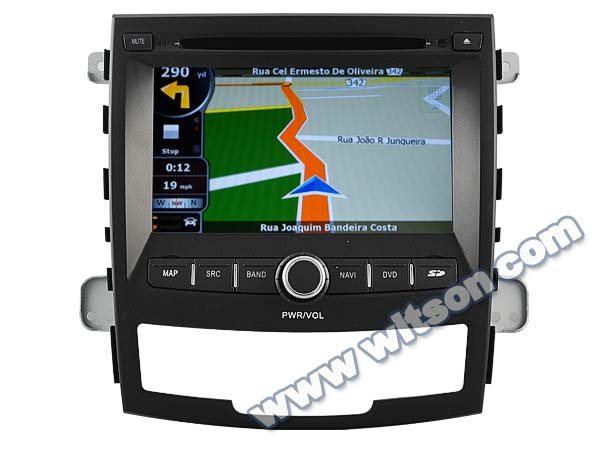 WITSON car gps navigation system for SSANGYONG NEW KORANDO ACTION