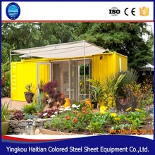 Solar power container house building shipping living cabin mobile home modular container well furnished house with bathroom