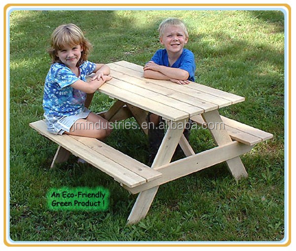 Outoodr Wood Picnic Table