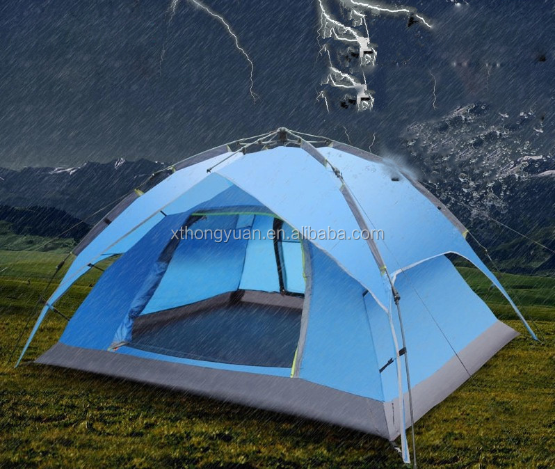 high quality mountain tent dome tent wooden pole camping kitchen tent