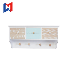 Superior Quality Promotional Price Shabby Chic Decorative Wooden Wall Hanging Cabinets