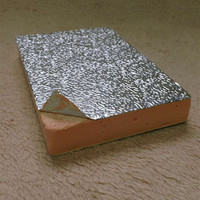 Phenolic Foam Duct Insulation Board Both sides with AL foil
