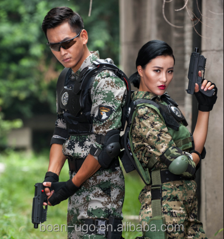 Laser tag gun and vest China high quality best outdoor laser tag guns