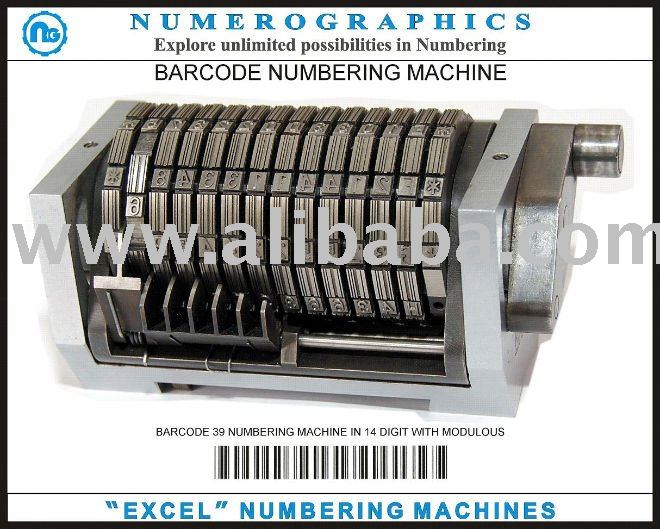 Excel numbering machines