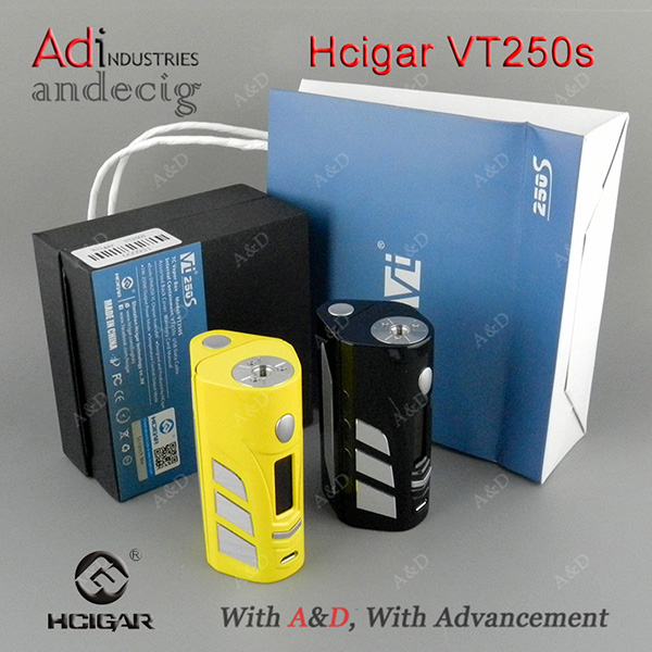 Hcigar VT250S Box Mod For big Vapor
