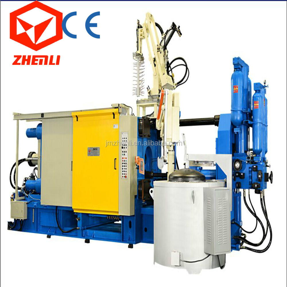 aluminium injection molding machine die casting machine to make cookware