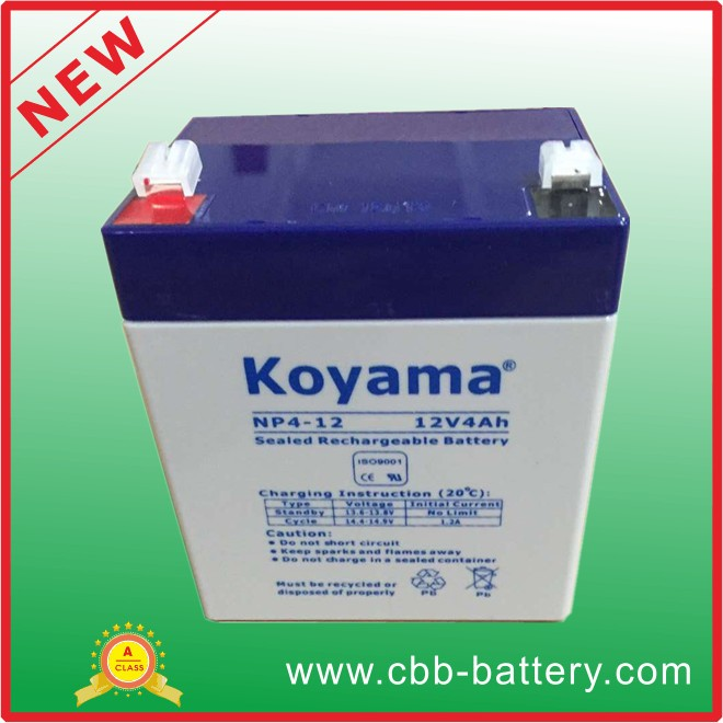 12v 4Ah VRLA Lead Acid Battery AGM UPS Battery for Wholesale