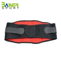 Breathable waist support pressure reducing exercise sweat belt