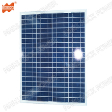 80W 36V polycrystalline solar panel, PV panel for solar power system, solar module