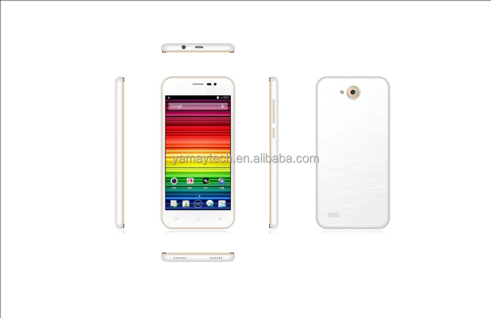 ebay china website 4.5inch IPS 480*854 FWVGA MTK6582 quad core 3g smartphone