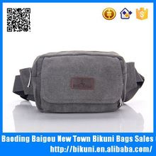 Custom outdoor china sports holesale canvas waist bag for men